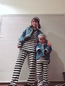 囚人 ボーダー ハロウィン 仮装