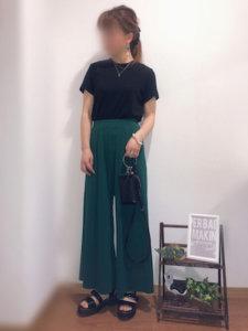 satomiのTシャツ・カットソー「クルーネックT(半袖)」を使ったコーディネート