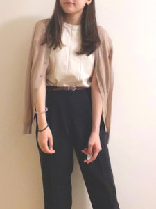 NaaのTシャツ・カットソー「クルーネックT(半袖)」を使ったコーディネート