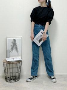Lilychouchouのシャツ/ブラウス「【ZOZO限定】サキシマamp「パワショルデザインボリューム袖ブラウス」」を使ったコーディネート