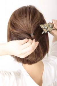 入園式・入学式 ママの髪型 ボブ