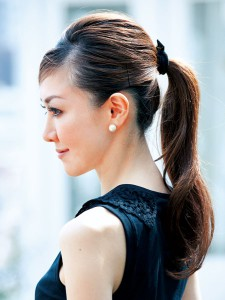 入園式・入学式 ママの髪型 ロング