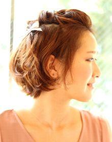 入園式・入学式 髪型 ショート