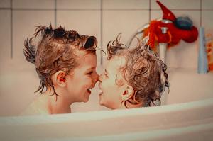 子供とお風呂 ママ大変