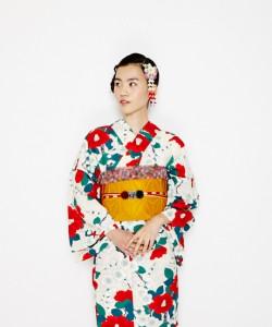 2016年レトロ浴衣