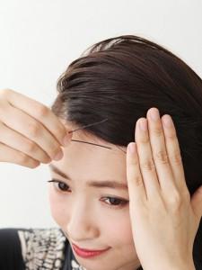 ボブのヘアアレジ方法