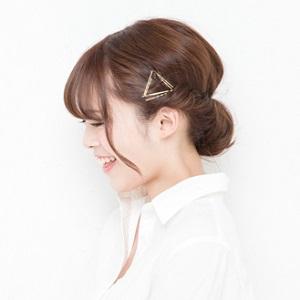 ゆる髪アップ 30代ママ向け やり方 画像