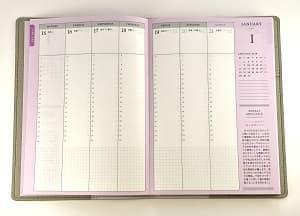 カンザキメグミ 18年 手帳 美容