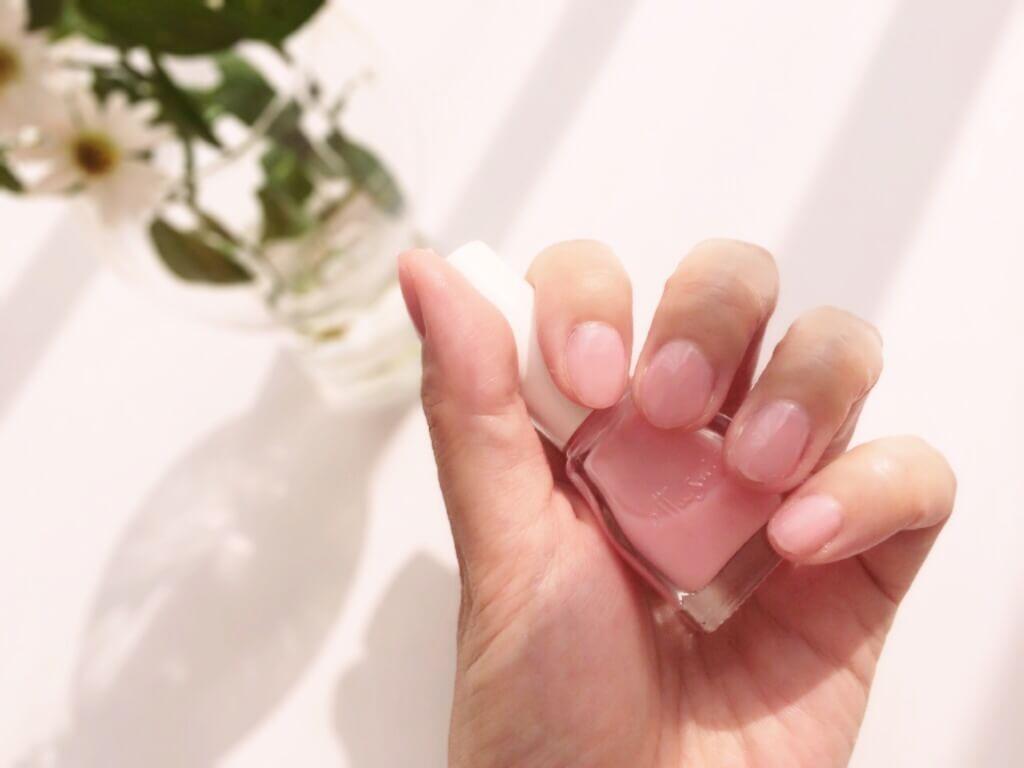 指先を可憐なピンクに♡『桜貝ネイル』セルフ&簡単なやり方