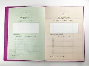 年間目標 手帳公開 女性 スケジュール帳 カンザキメグミ