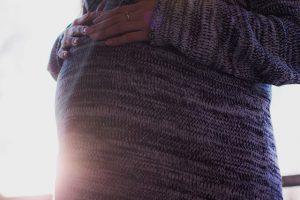 妊娠 ワンピース 秋冬 コーディネート