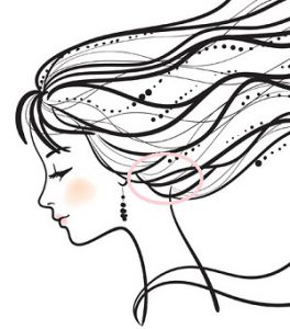 サイド寄せ 髪型 簡単なやり方 画像