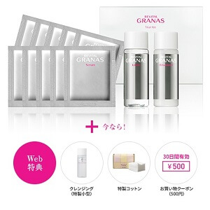 資生堂グラナス キット 予算2000円