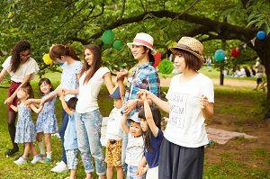 牧場 園外活動 オシャレファッション 画像