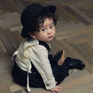 1歳誕生日 撮影 洋服 カジュアル 男の子