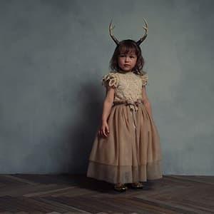 女の子 記念写真 3歳 都内 ワンピース ドレス
