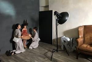 七五三 家族写真 カジュアル 洋服