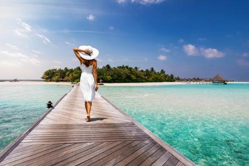 リゾート 帽子 海外旅行 ビーチ 日焼け防止 UVカット 折りたたみ帽子