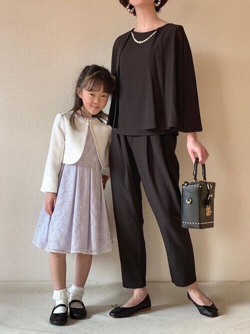 謝恩会 卒業式 卒園式 ママ 服装