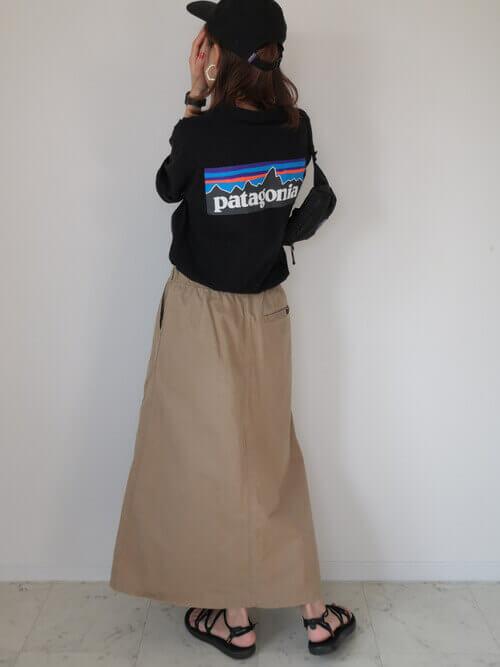 キャンプ 夏 コーデ 服装 ファッション 30代