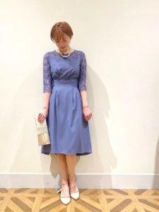 華やかで大人かわいいドレス