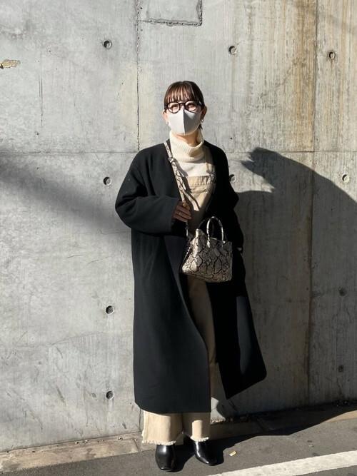 メガネ マスク コーデ 30代