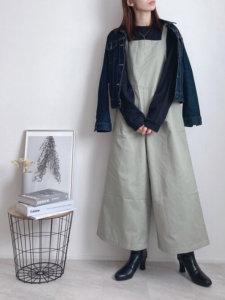 Lilychouchouのデニムジャケットを使ったコーディネート