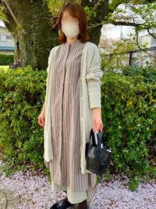 のりたまママのスカート「【WEB限定PRICE】コーデュロイビッグポケットタイトスカート」を使ったコーディネート