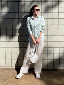 Risa_Shichinoのシャツ/ブラウス「<beautiful people>オックスワークシャツΨо」を使ったコーディネート