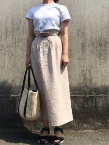 maiのTシャツ(半袖 ・タンクトップ)「クルーネックT(半袖)」を使ったコーディネート