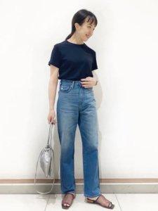 Asami ShigetaのTシャツ/カットソー「★クルーネックカット半袖プルオーバー *●」を使ったコーディネート