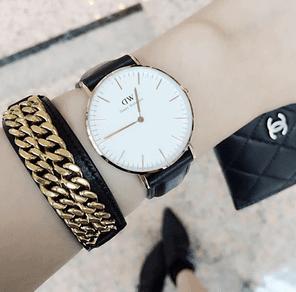 存在感バッチリの腕時計