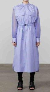 GROSGRAIN SHIRT DRESS