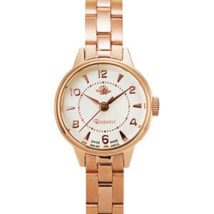 ロゼモンのピンクゴールドの腕時計