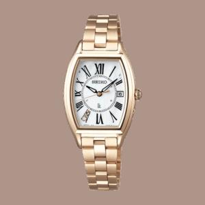 セイコーのゴールドの腕時計