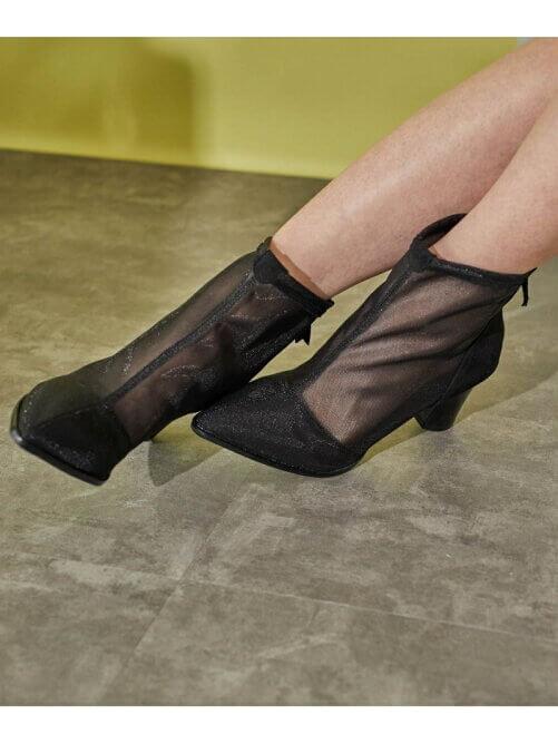 チュール ブーツ