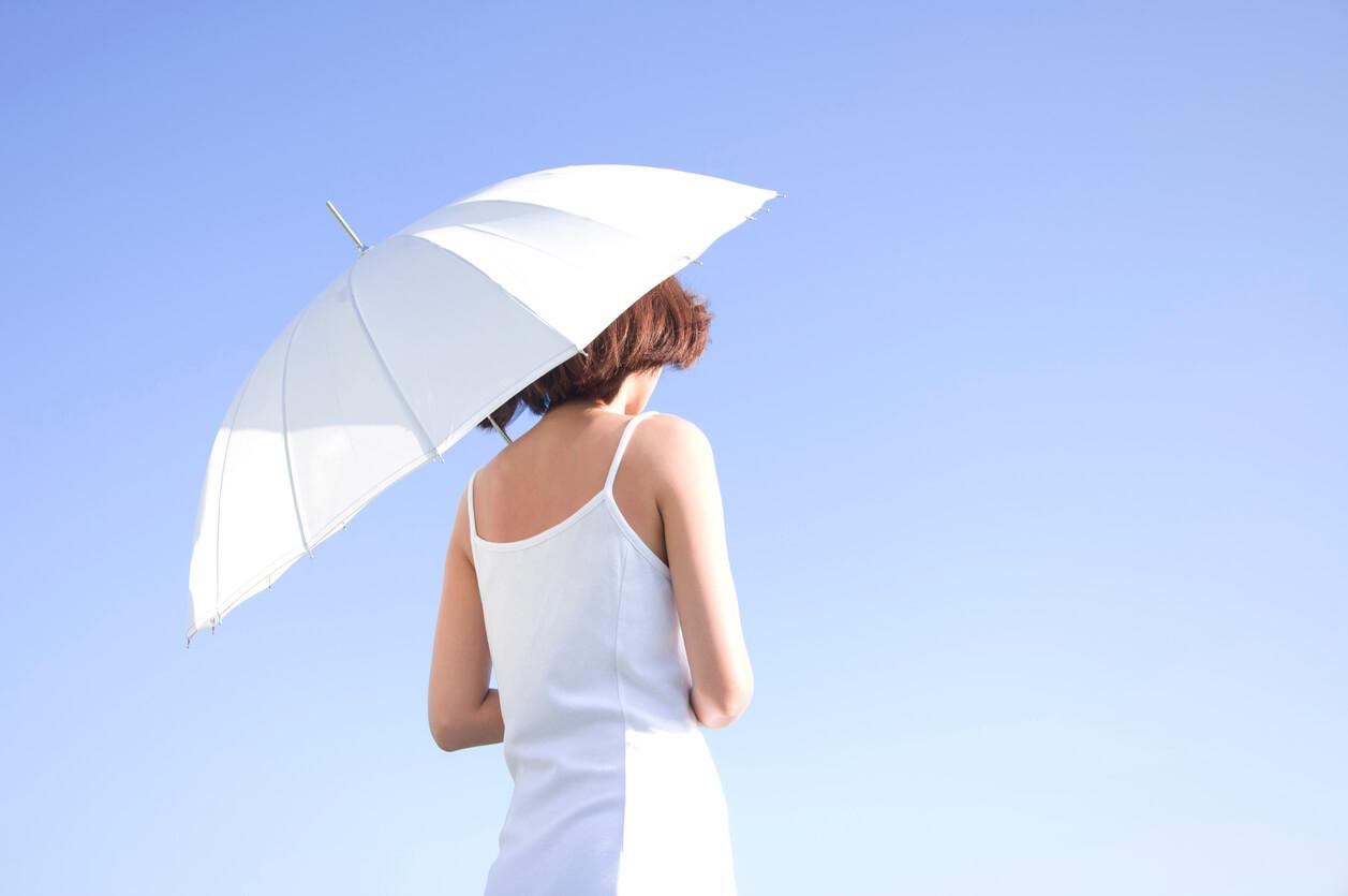 完全遮光 日傘 折りたたみ 素材