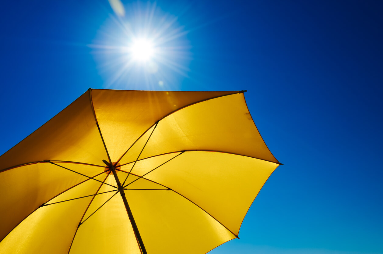 完全遮光 折りたたみ 日傘 遮熱 UVカット