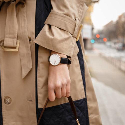 トレンチコート 40代 ファッション