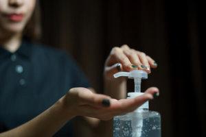 アルコール消毒 感染対策 ハンドクリーム